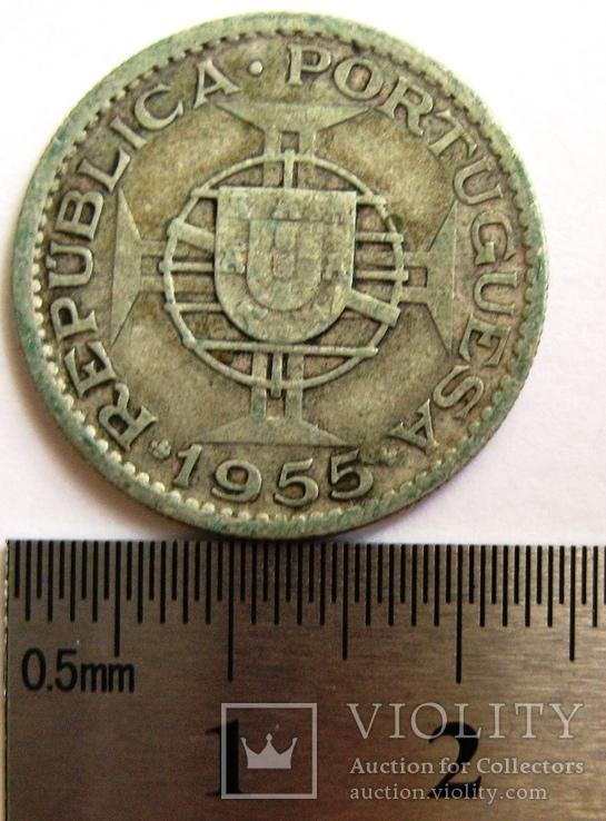 Португальская Ангола, 10 эскудо 1955 г., фото №5