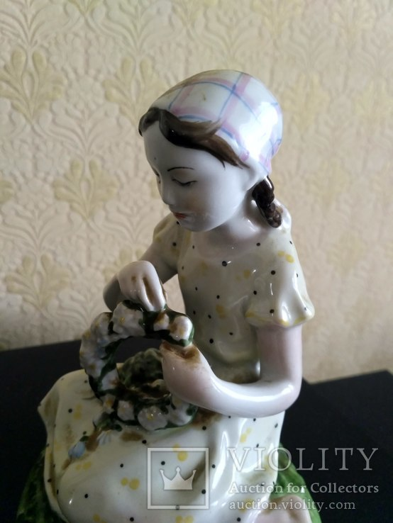 Девушка, девочка с венком. ЛФЗ., фото №7