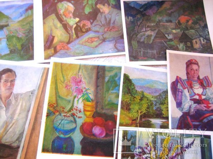 Набір листівов худож. Ерделі А., фото №5