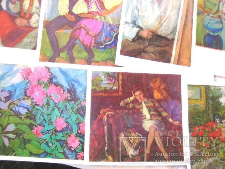 Набір листівов худож. Ерделі А., фото №8