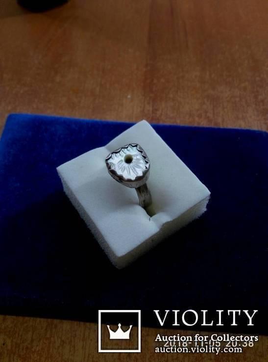 Перстень серебряный . Рим, фото №2