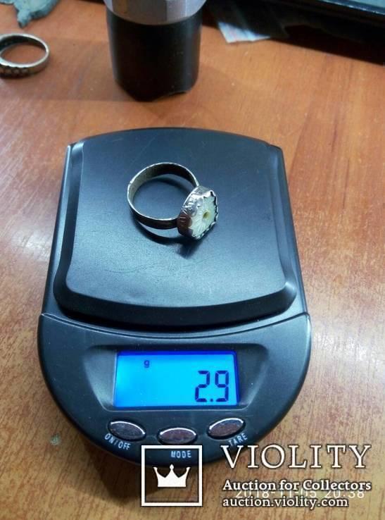 Перстень серебряный . Рим, фото №4