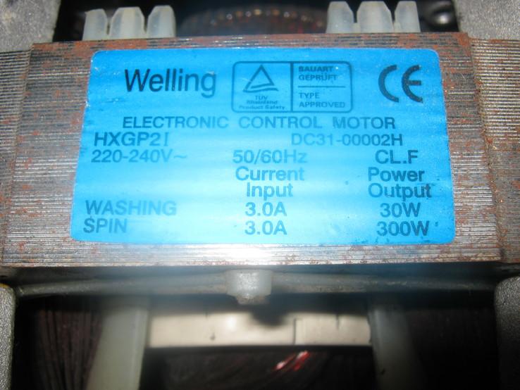 Двигатель от стиральной машинки, фото №4