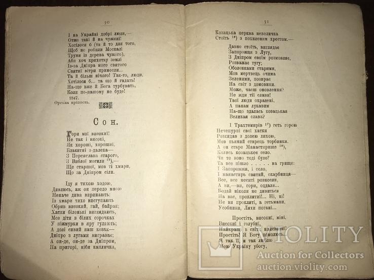 1911 Шевченко про Україну та Козацтво, фото №8