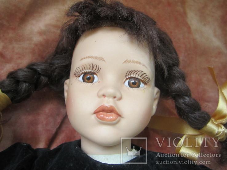 Кукла большая фарфоровая., фото №6