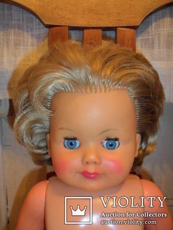 Кукла ES 60 см. колкий пластик Германия., фото №9