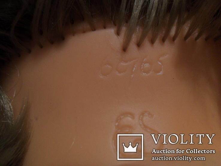 Кукла ES 60 см. колкий пластик Германия., фото №10