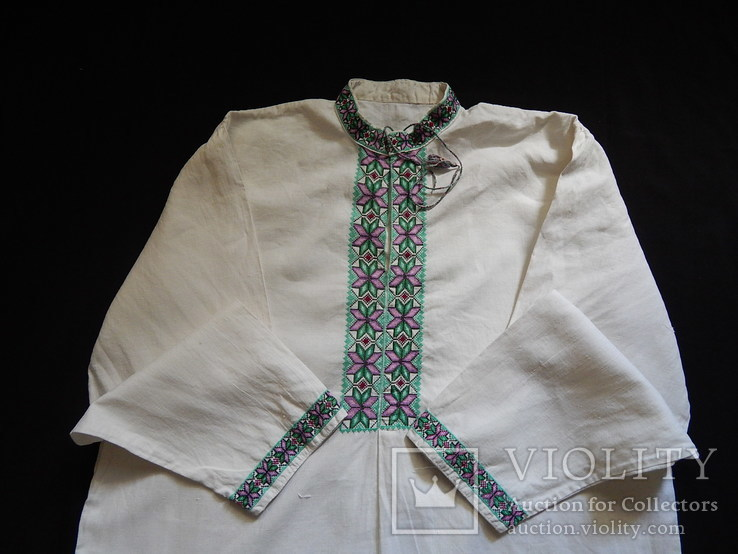Сорочка вишита чоровіча, фото №2