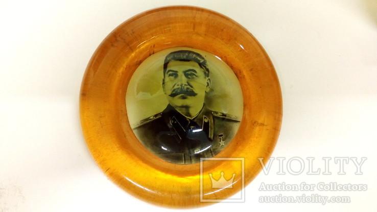 Плакетка Сталин. 50-е гг.