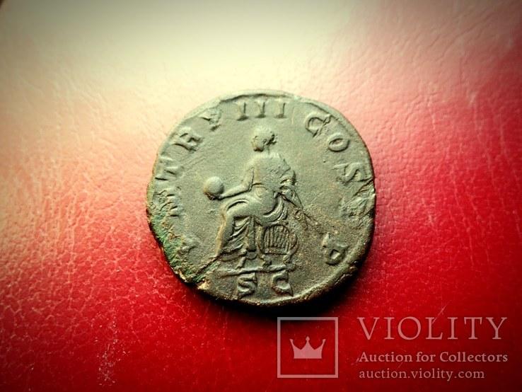 Сестерций Гордиан -3 в коллекцию, фото №12