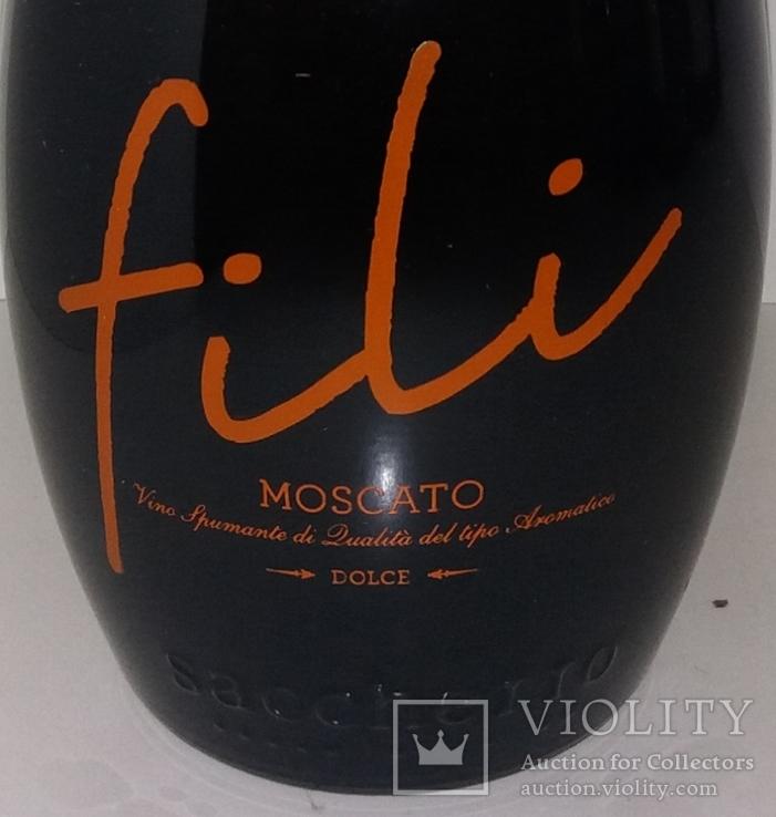 Вино игристое Fili Moscato Dolce, Италия, фото №3