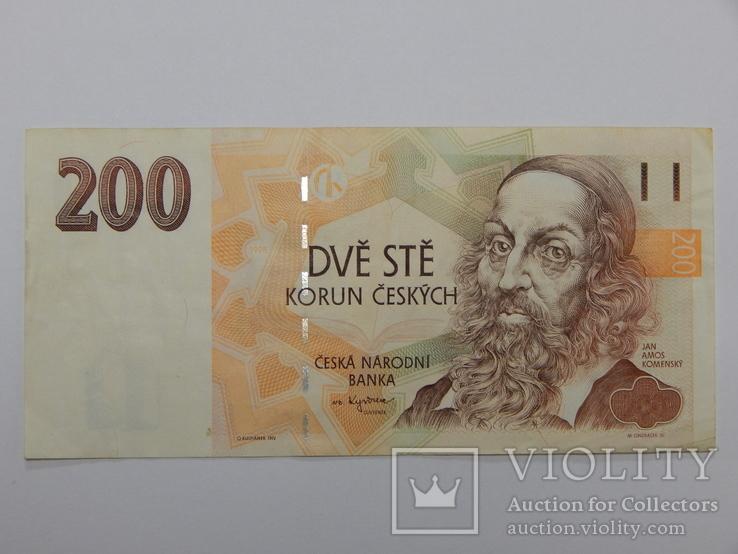 Бона 200 крон, Чехия