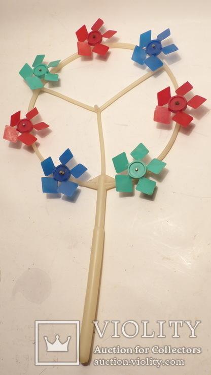 Ссср игрушка - игрушечная ветряная мельница, фото №2