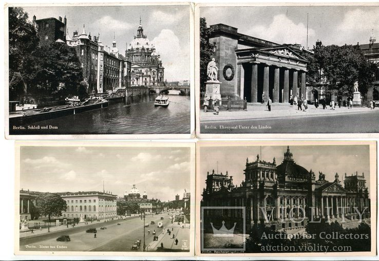 11 шт. Открыток Берлин., фото №3