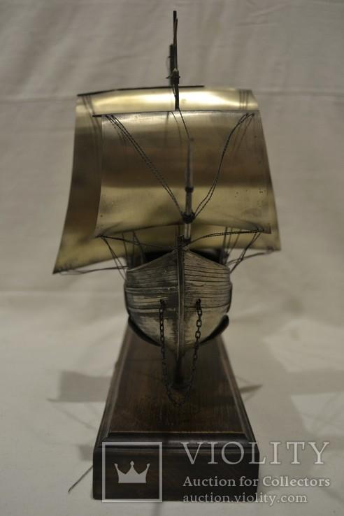 Корабль (Pinta) 19-й век. 700гр., фото №13