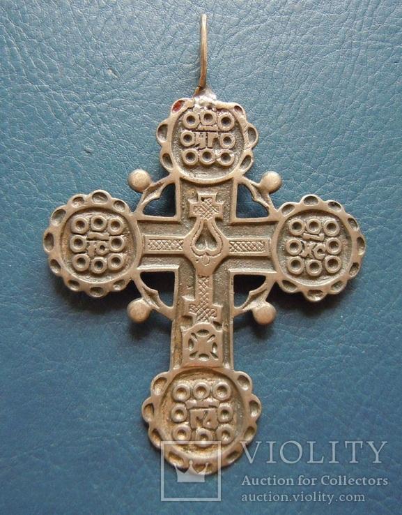Серебряный крест № 1, фото №3