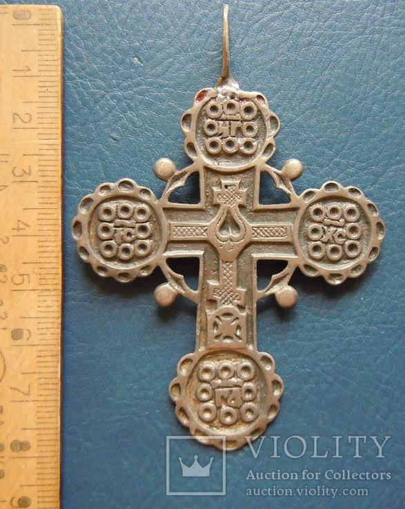 Серебряный крест № 1, фото №2
