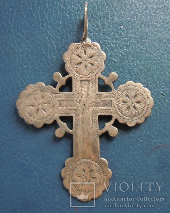 Серебряный крест № 1, фото №9