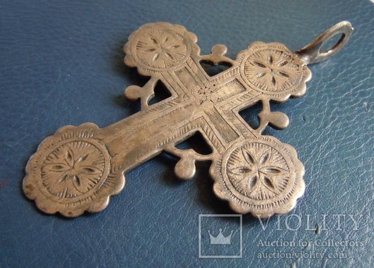 Серебряный крест № 1, фото №10