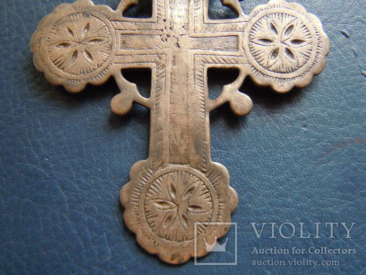 Серебряный крест № 1, фото №12