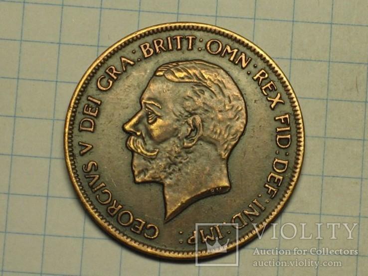 1 пенни 1833 копия, фото №3