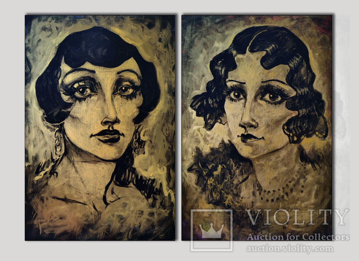 Golden ages (diptych)