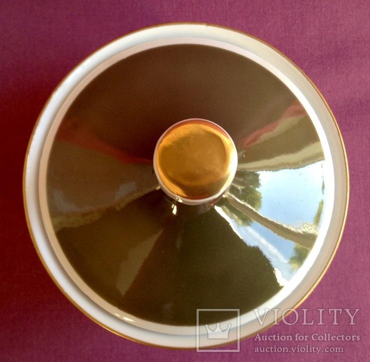 Сливочник и сахарница. Сервиз кофейный Европейский. Фарфор из Германии., фото №11