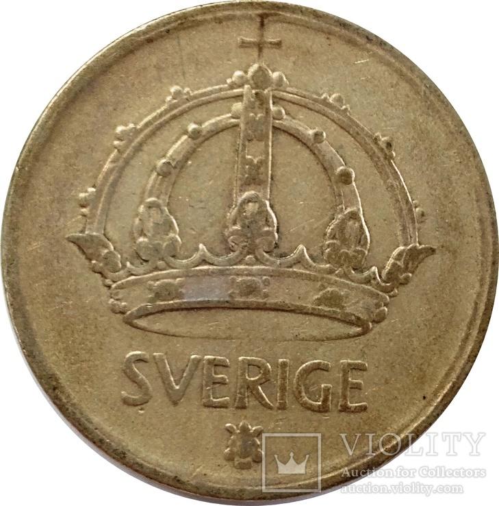 Швеция 50 оре 1948-серебро,С20, фото №3