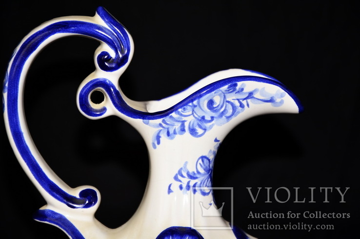 Винтажная ваза. Португалия. Ручная роспись., фото №3