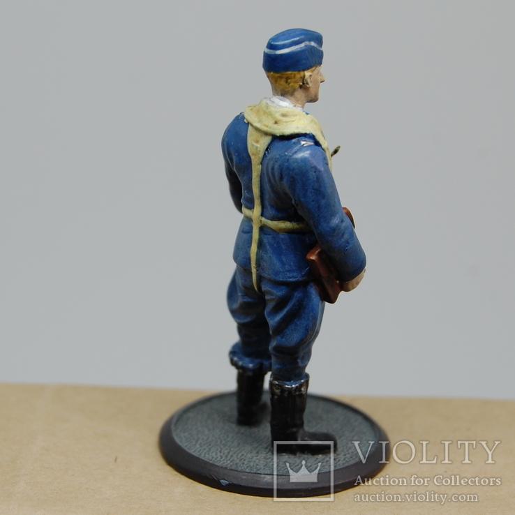 Немецкий Африканский корпус. Летчик. олово, раскрас, фото №7