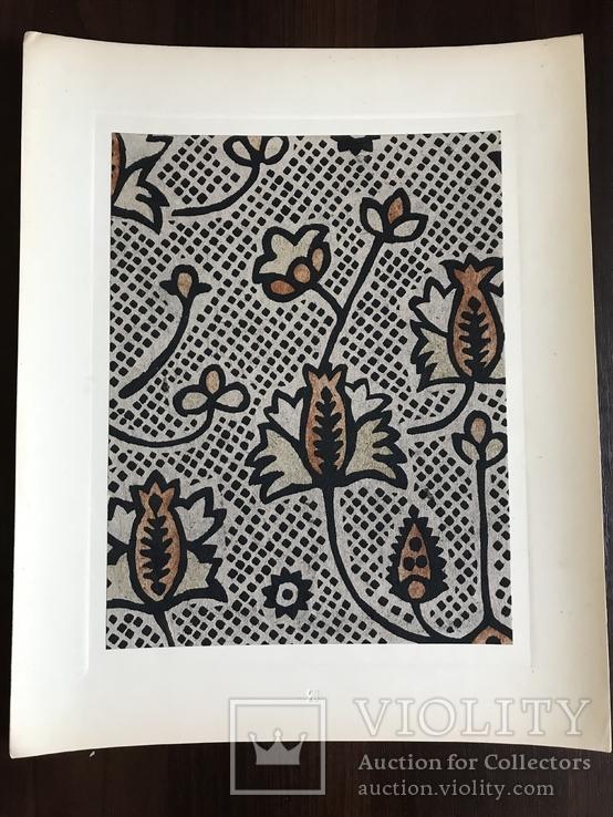 1948 Старинная Набойка Ткани, всего 300 тираж, фото №7