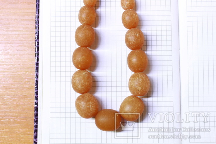 Бусы из янтаря 77 грамм, фото №8