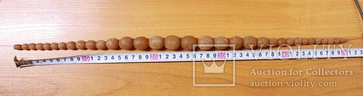 Бусы из янтаря 77 грамм, фото №10