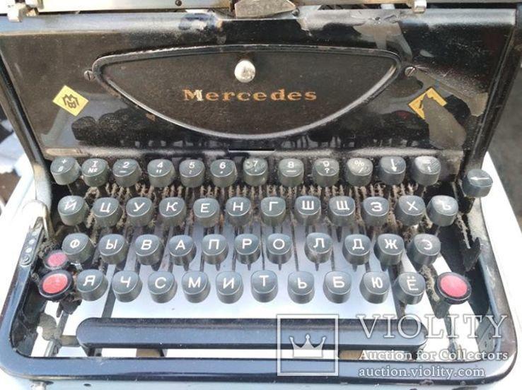 Механическая Печатная Машинка - Mercedes/Германя, фото №2