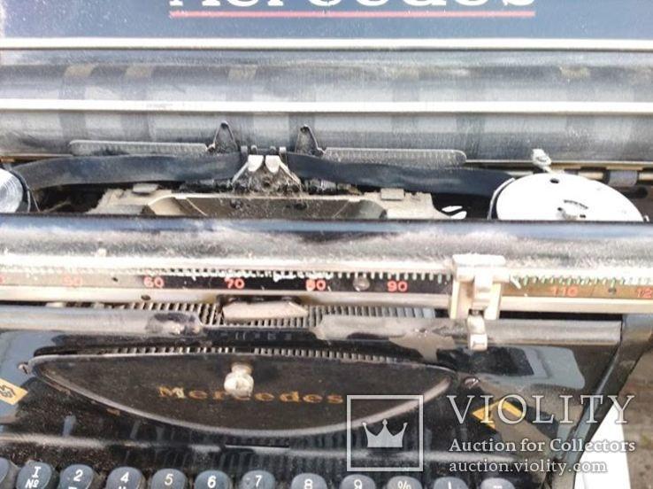 Механическая Печатная Машинка - Mercedes/Германя, фото №6