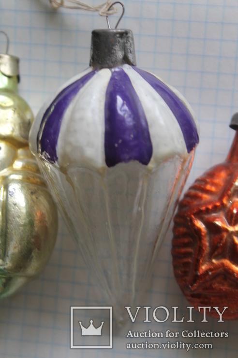 Елочные игрушки одним лотом, фото №3