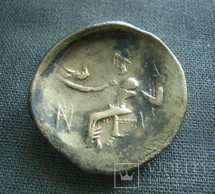 Варварское подражание тетрадрахме Александра Македонского