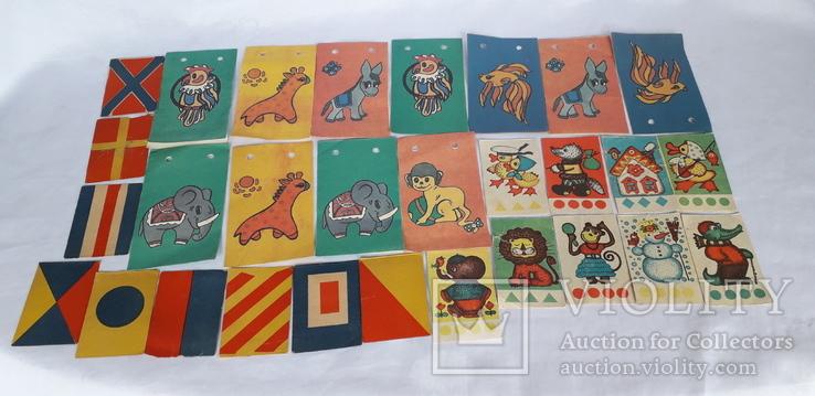Бумажные елочные гирлянды СССР, фото №2