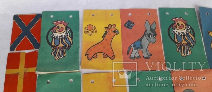 Бумажные елочные гирлянды СССР, фото №3