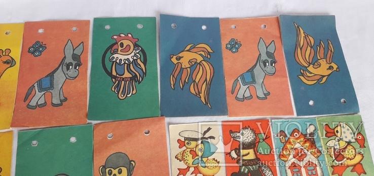 Бумажные елочные гирлянды СССР, фото №4