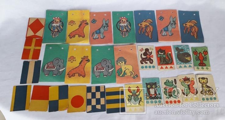 Бумажные елочные гирлянды СССР, фото №11