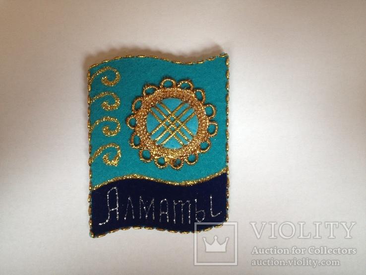 Магнит сувенир казахстан, фото №3