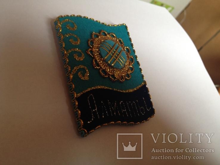 Магнит сувенир казахстан, фото №4