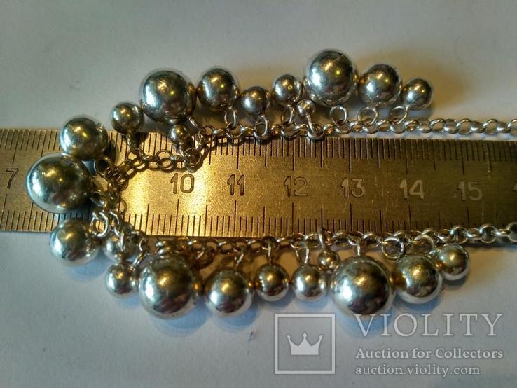 Колье серебро, фото №4