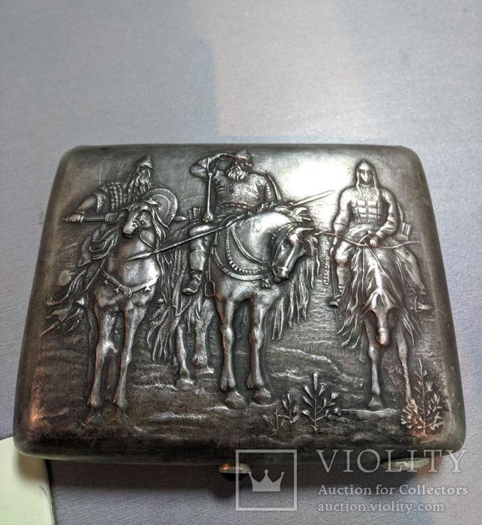 Портсигар Три Богатыря