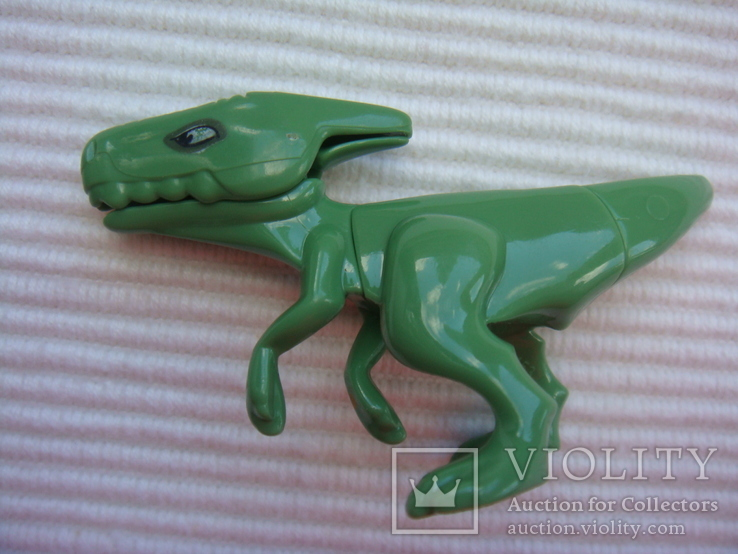 Фигурки динозавры, желтый резиновый INPRO 1972 год, фото №6