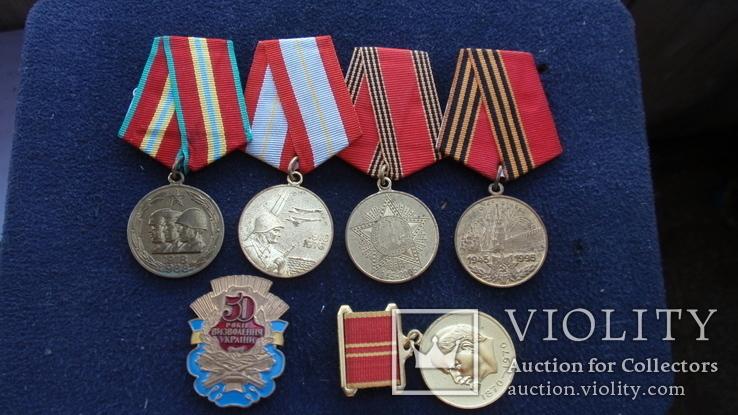 Медаль За воинскую доблесть + на одного человека, фото №9