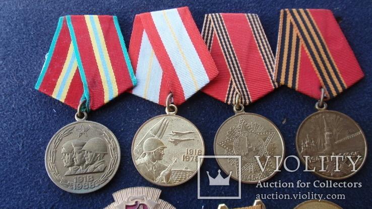Медаль За воинскую доблесть + на одного человека, фото №10