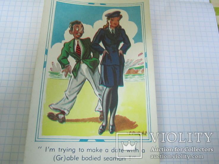 Открытки сатирические 5 шт., фото №11