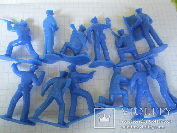 Солдатики полиция 24 шт., фото №8